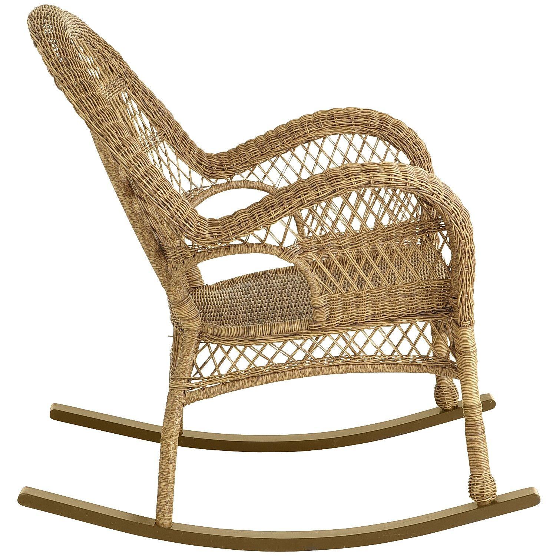 Santa Barbara Light Brown Rocking Chair Products Furniture