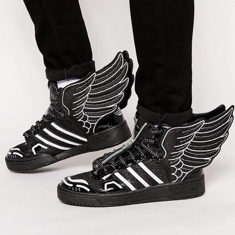 Adidas Originals by Jeremy Scott 2.0 Mesh 'Baskets' Noir