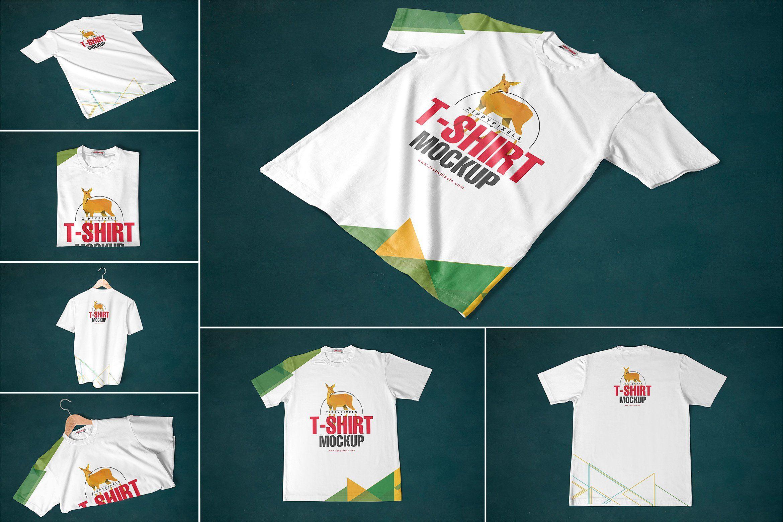 Download Round Neck T Shirt Mockups Shirt Mockup Tshirt Mockup Mockup Free Psd