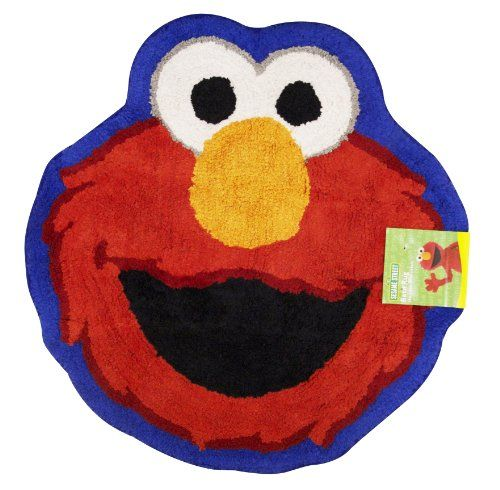 Sesame Street Patchwork Bath Rug Elmo List Price 19 99