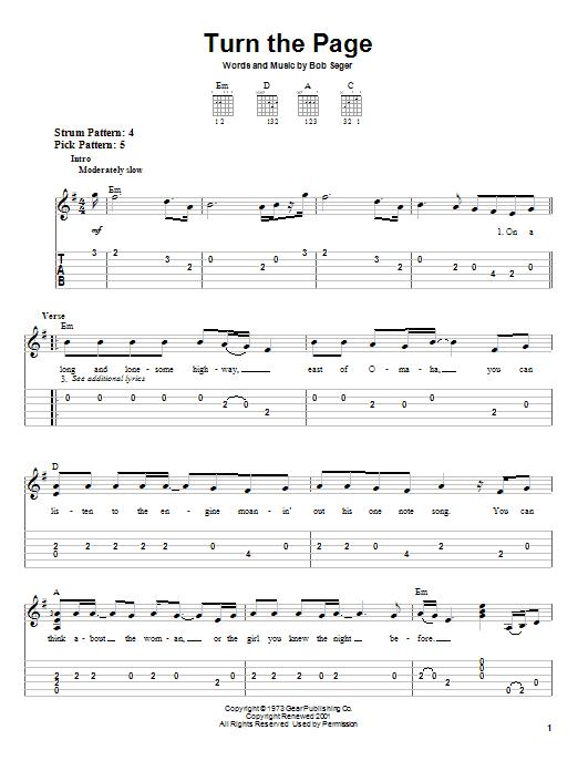 peaceful easy feeling chords