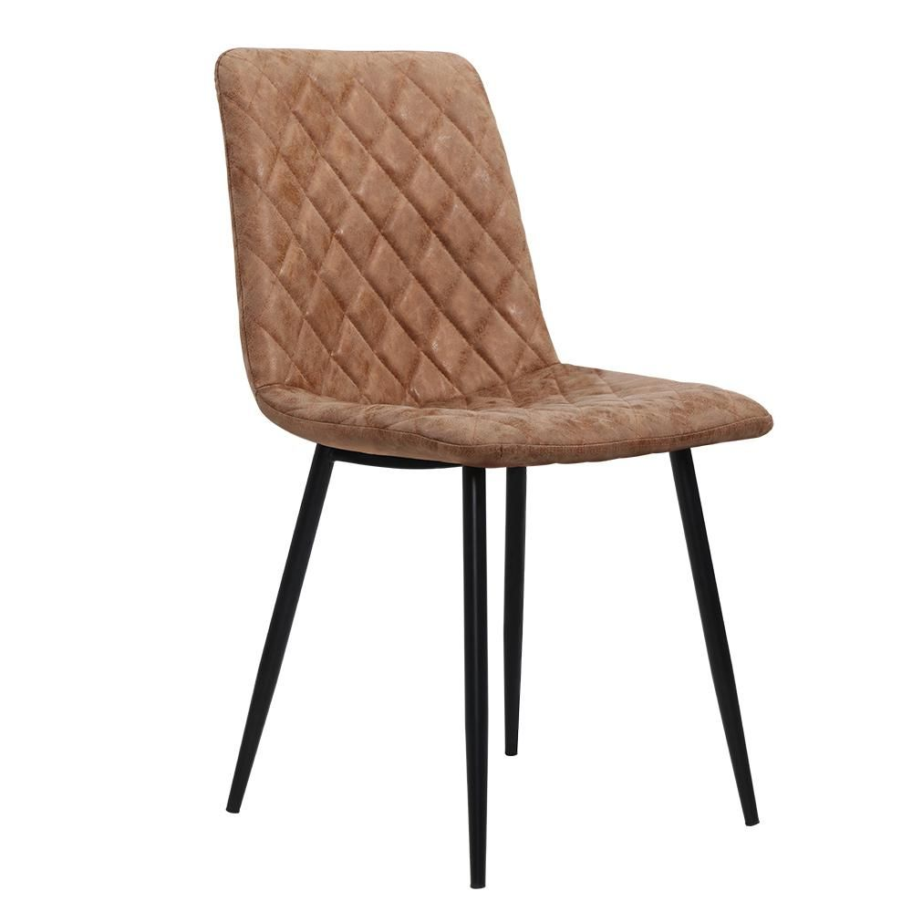 Dining chairs replica kitchen chair pu leather padded