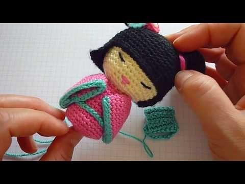 Amigurumi Knitting Tutorial : Tutorial nuvola amigurumi giostrina neonato parte fatinha