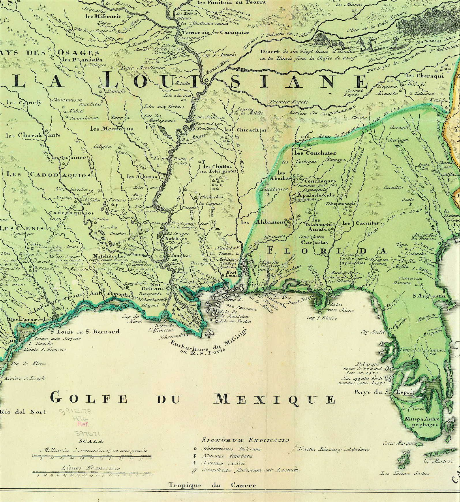 Florida On The World Map.Texas To Florida French Map Abt 1750 Our Trees Portraits