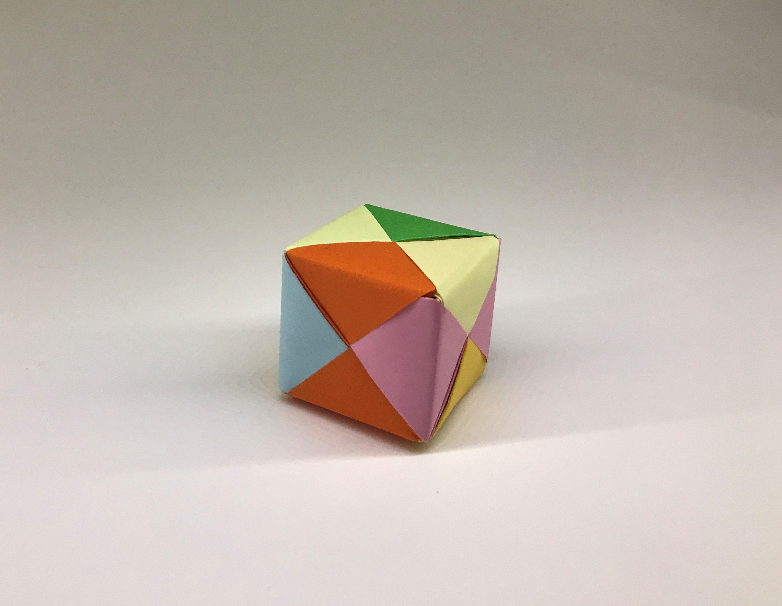 Photo of Origami Küp Yapımı | Origami Cube | Origami Würfel