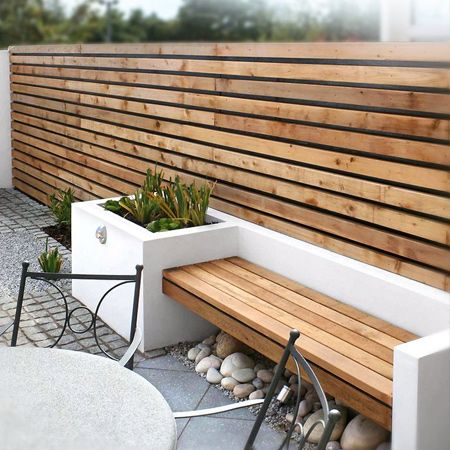We Have Chosen A Selection Of Garden Benches, Both Freestanding And  Built In That