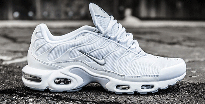 "timeless design bdab3 74bba Nike Air Max Plus ""Casper"".....want these!!"