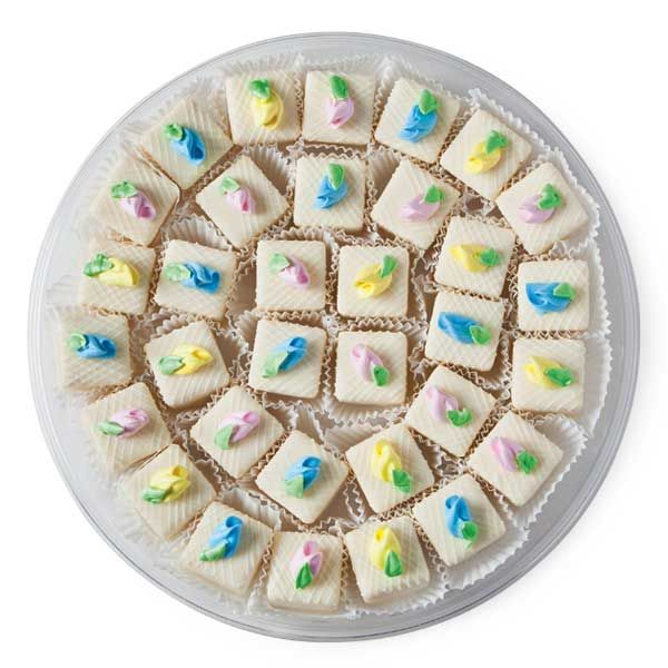 Afternoon Wedding Reception Ideas: Petit Fours Platter From Publix. Perfect For An Afternoon