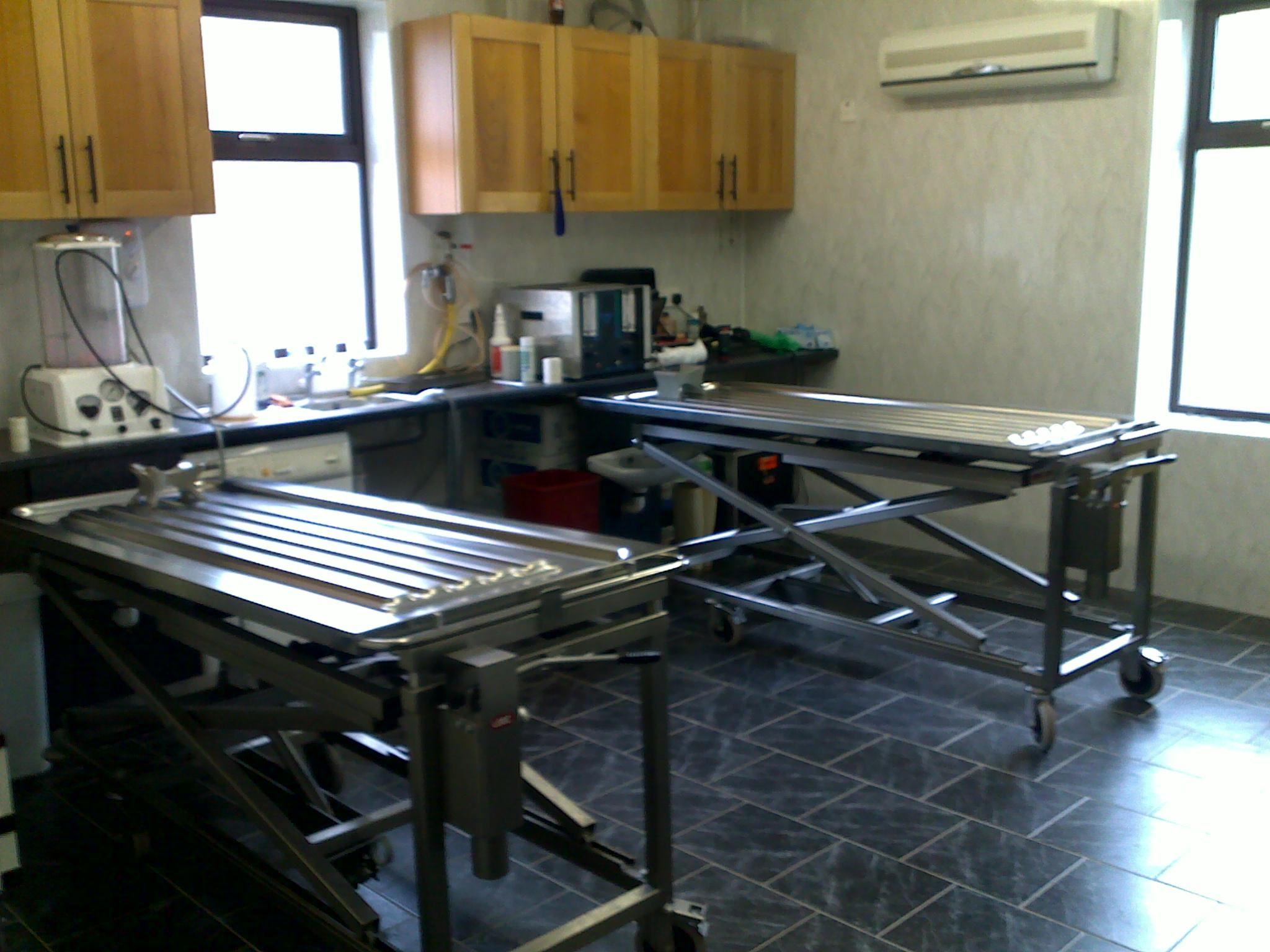 Embalming Room Design Part - 24: Embalming Preparation Room