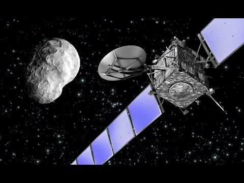 Probe Landed On Moving Comet. The Rosetta Mission Explained
