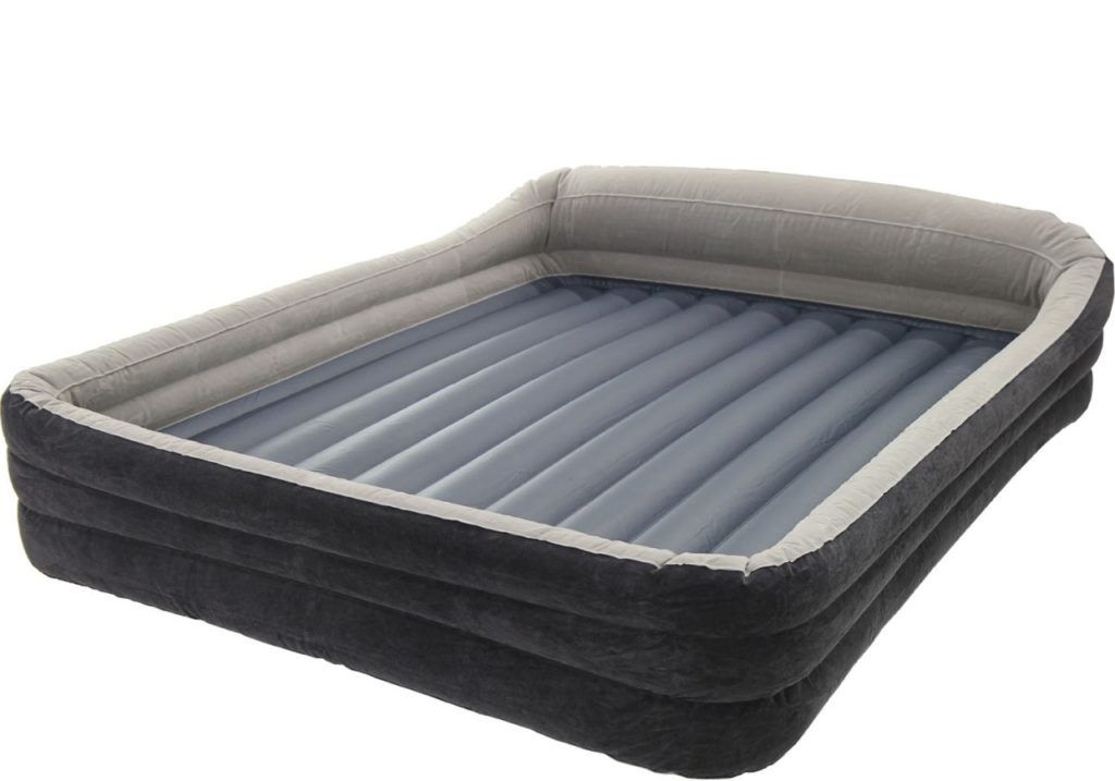 Blow Up Mattress On Bed Frame Bed Frames Ideas Pinterest Bed