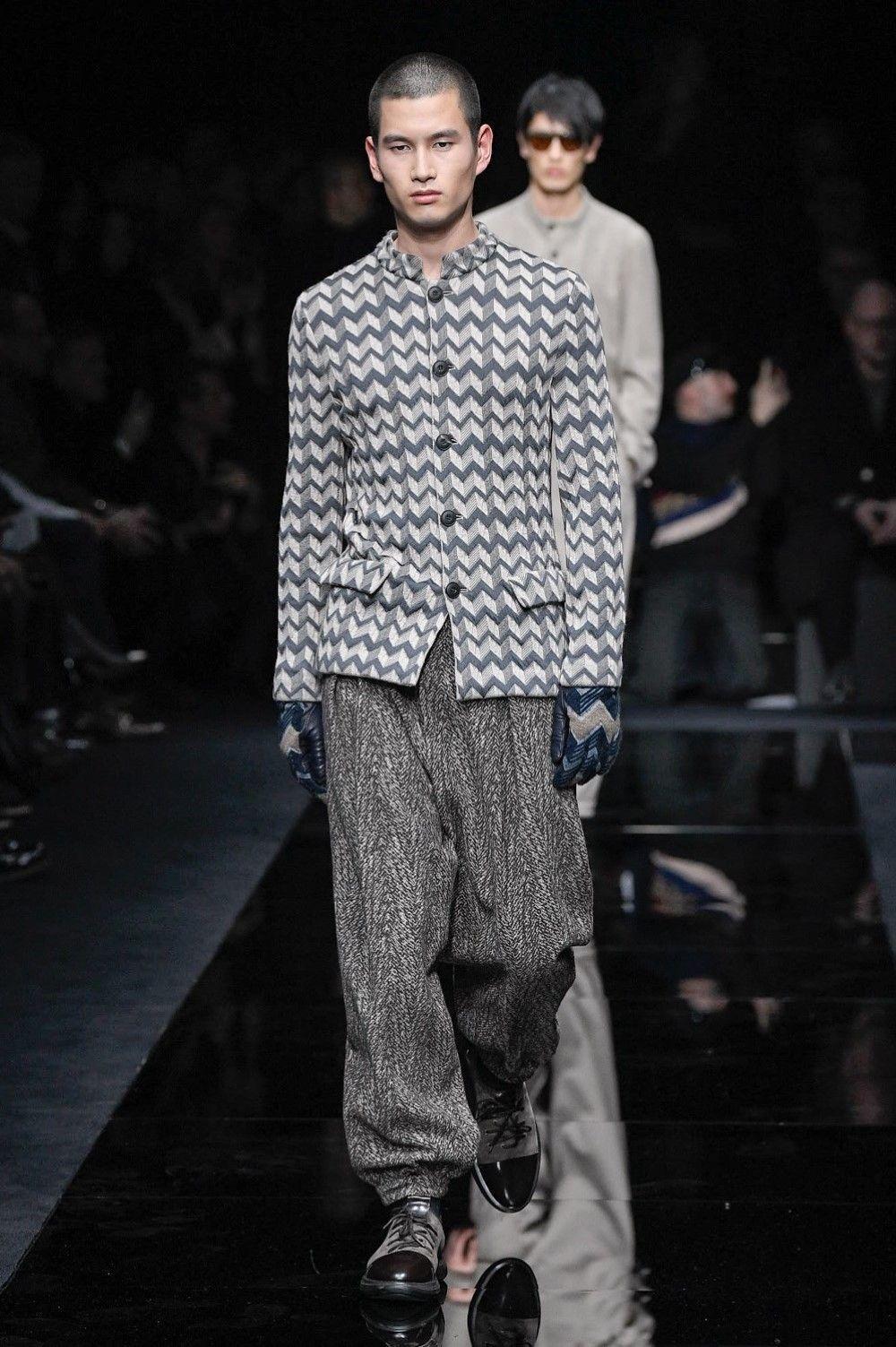Giorgio Armani – Fall / Winter 2020 2021 – Milano Fashion Week