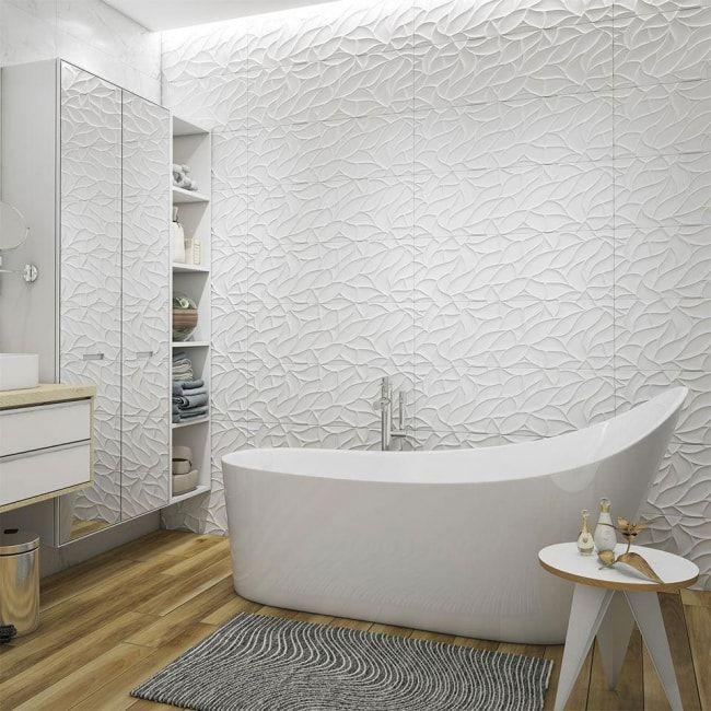 Badezimmer im skandinavischen Stil   Badezimmer Dekoration   Pinterest