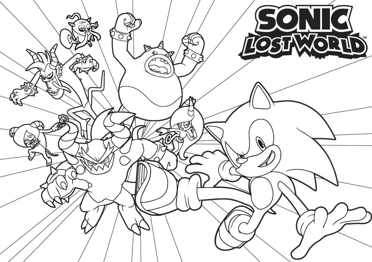 Download Or Print This Amazing Coloring Page Amy Coloring Pages Sonic Boom Coloring Pages For All Ages Coloring Pages Artwork Coloring For Kids