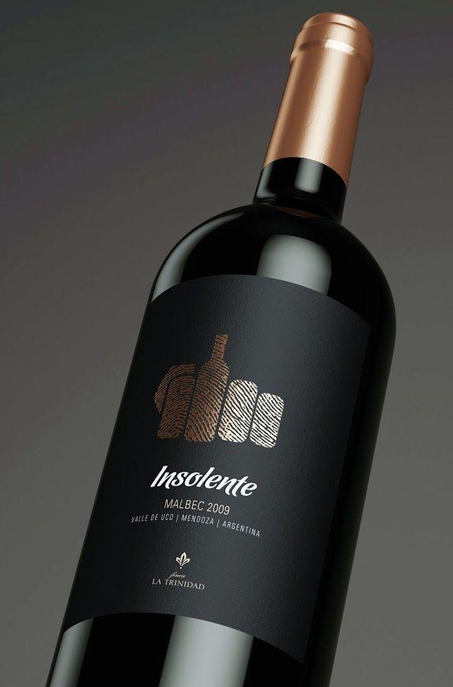 Insolente on Packaging of the World - Creative Package Design Gallery  #taninotanino #vinosmaximum