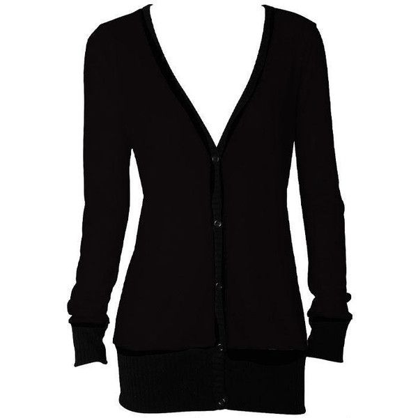 Boyfriend Cardigan ($20) ❤ liked on Polyvore featuring tops ...