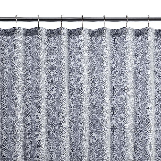 Kioto Royal Blue Shower Curtain Blue Shower Curtains Royal Blue