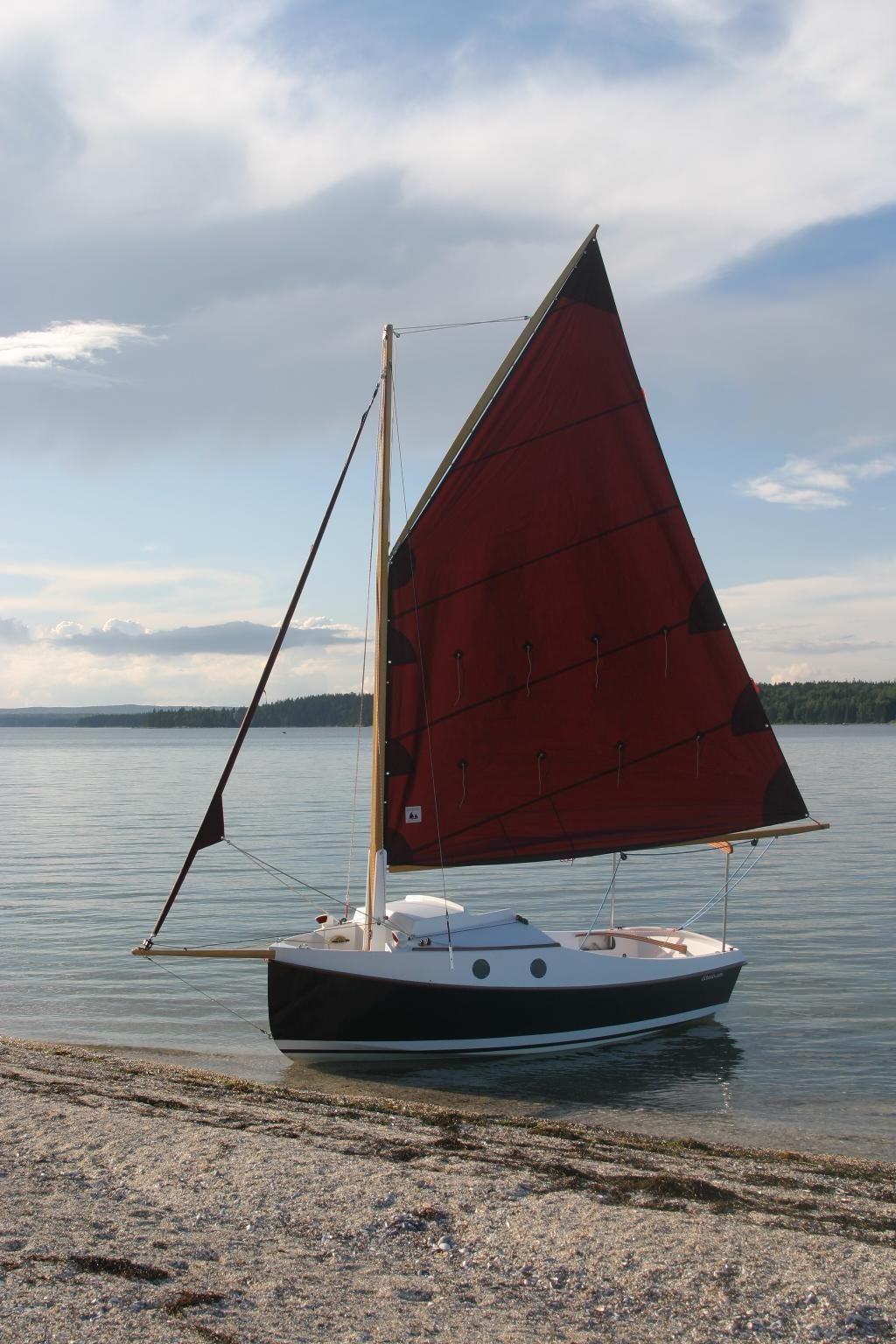 PocketShip: 15-foot Fast-Sailing Pocket Cruiser with Sitting Headroom and 8-foot Berths! Pocket ...