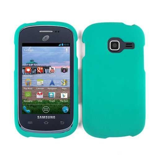 Unlimited Cellular Rubberized Cover for SAMR740 Galaxy Discover/ S738 Centura (Emerald Green)