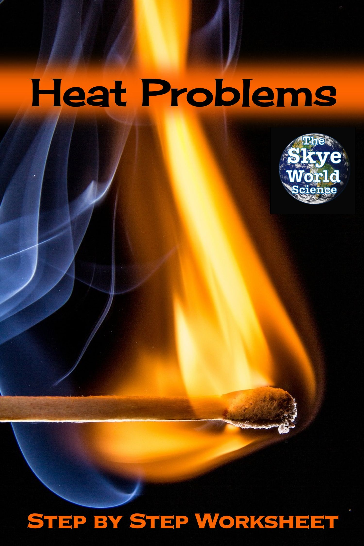 Specific Heat Problems Worksheet