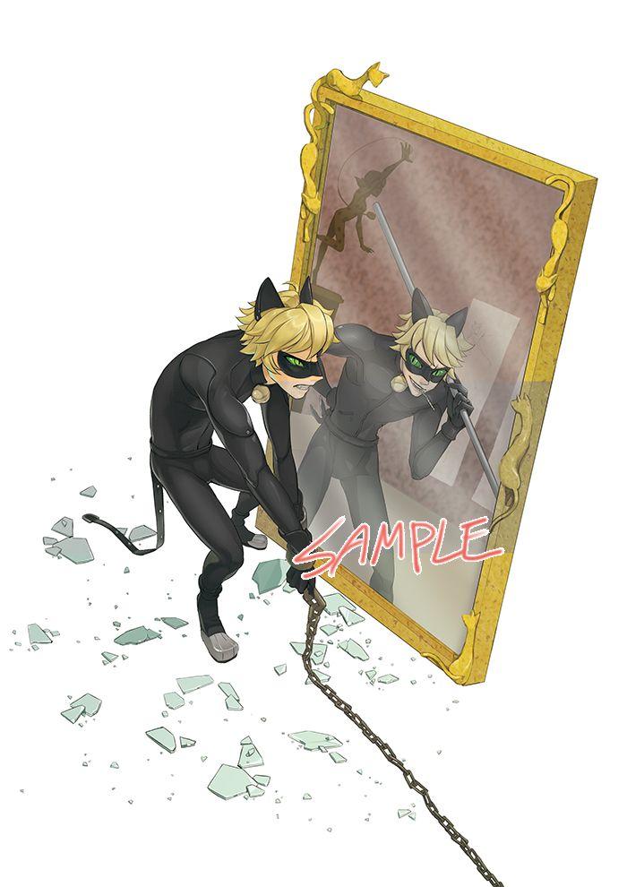 chat noir x copycat