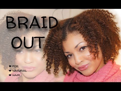 Braidout Video Tutorial For Natural 3c 4a 4b 4c Hair Uk Blogger