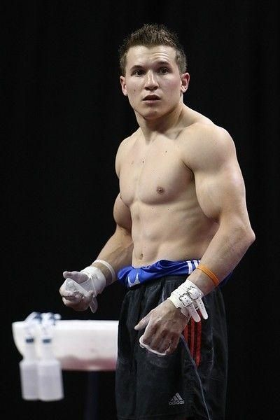 The men of the U.S. Olympic Gymnastic Team – Danell Leyva ...