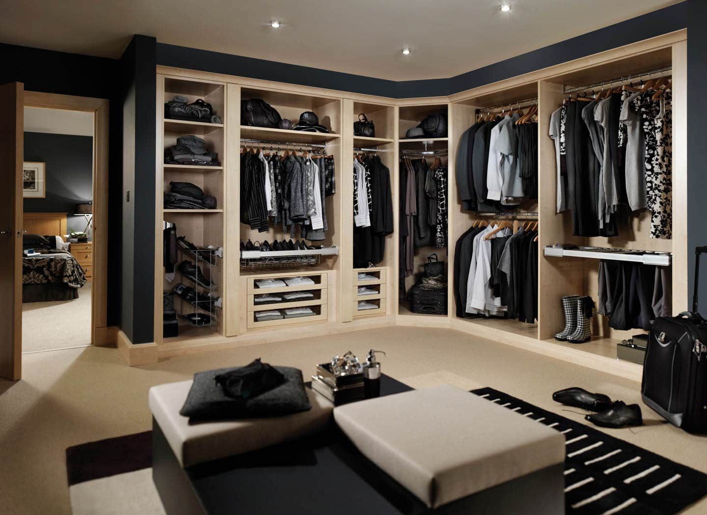 Fitted Dressing Rooms Crafted Strachan To Suit You With Regard Design An