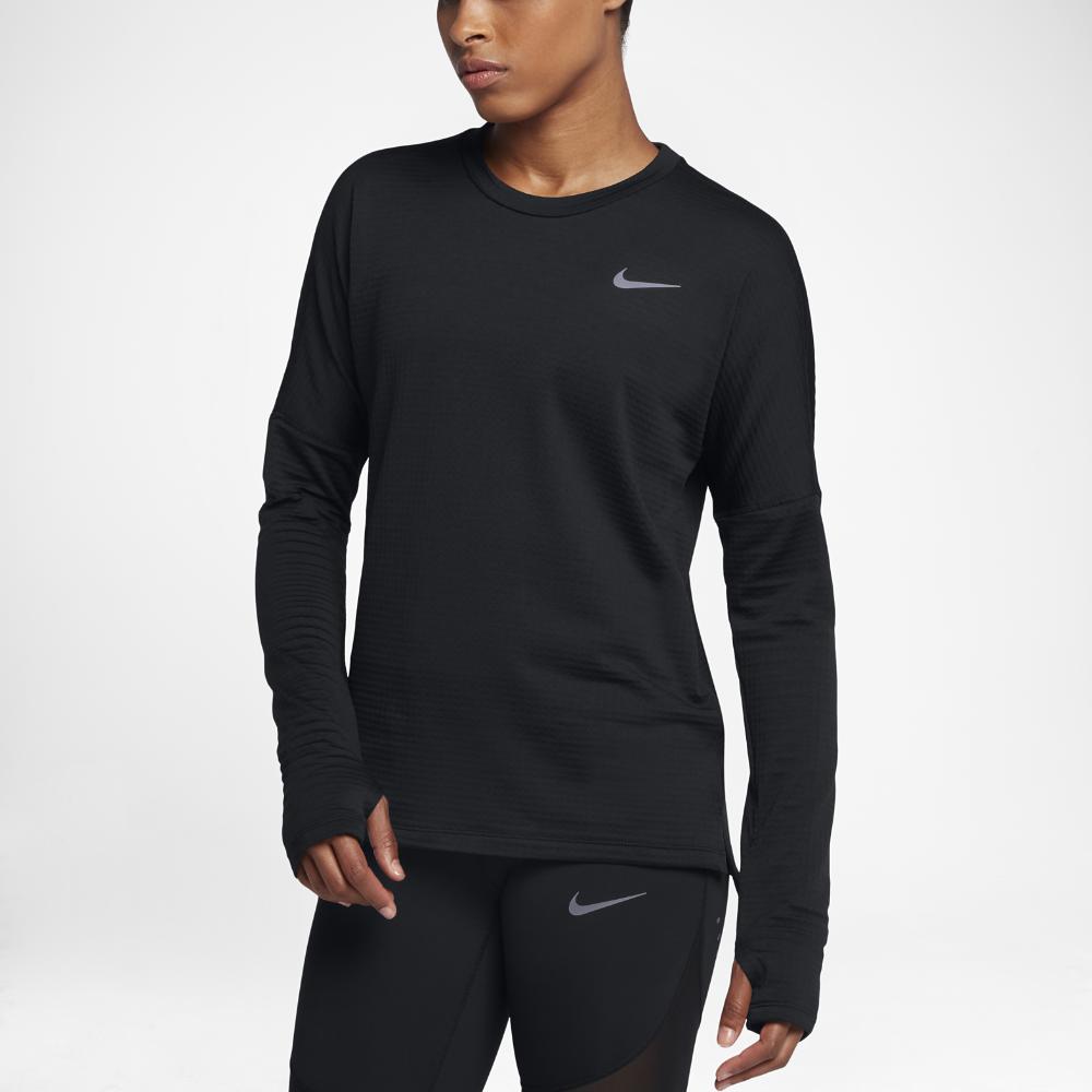 582b8b6d Nike Therma Sphere Element Women's Long Sleeve Running Top Size Medium  (Black)