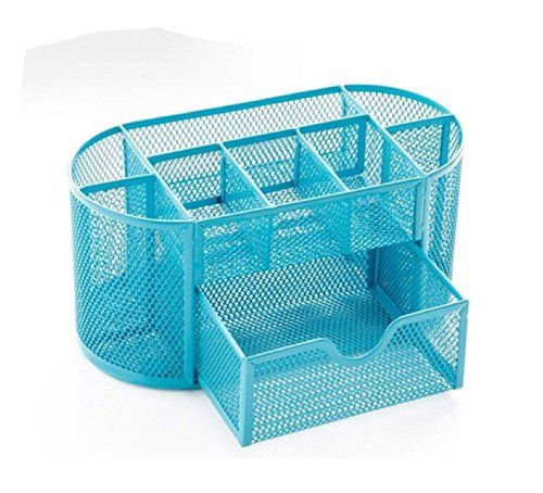 Mesh Desk Organizer Desk Supplies Combination Pen Holder Card Case Organizer Storage Box (Drawer-blue) Superbpag http://www.amazon.com/dp/B00KRZET6O/ref=cm_sw_r_pi_dp_JScyub1FPWXZ1
