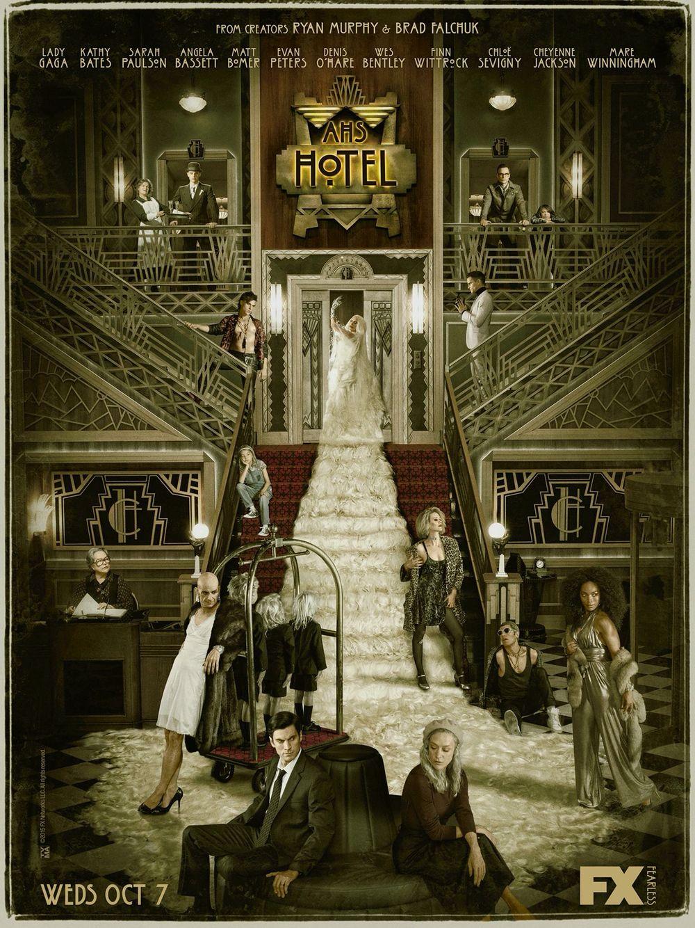 American horror story, hotel