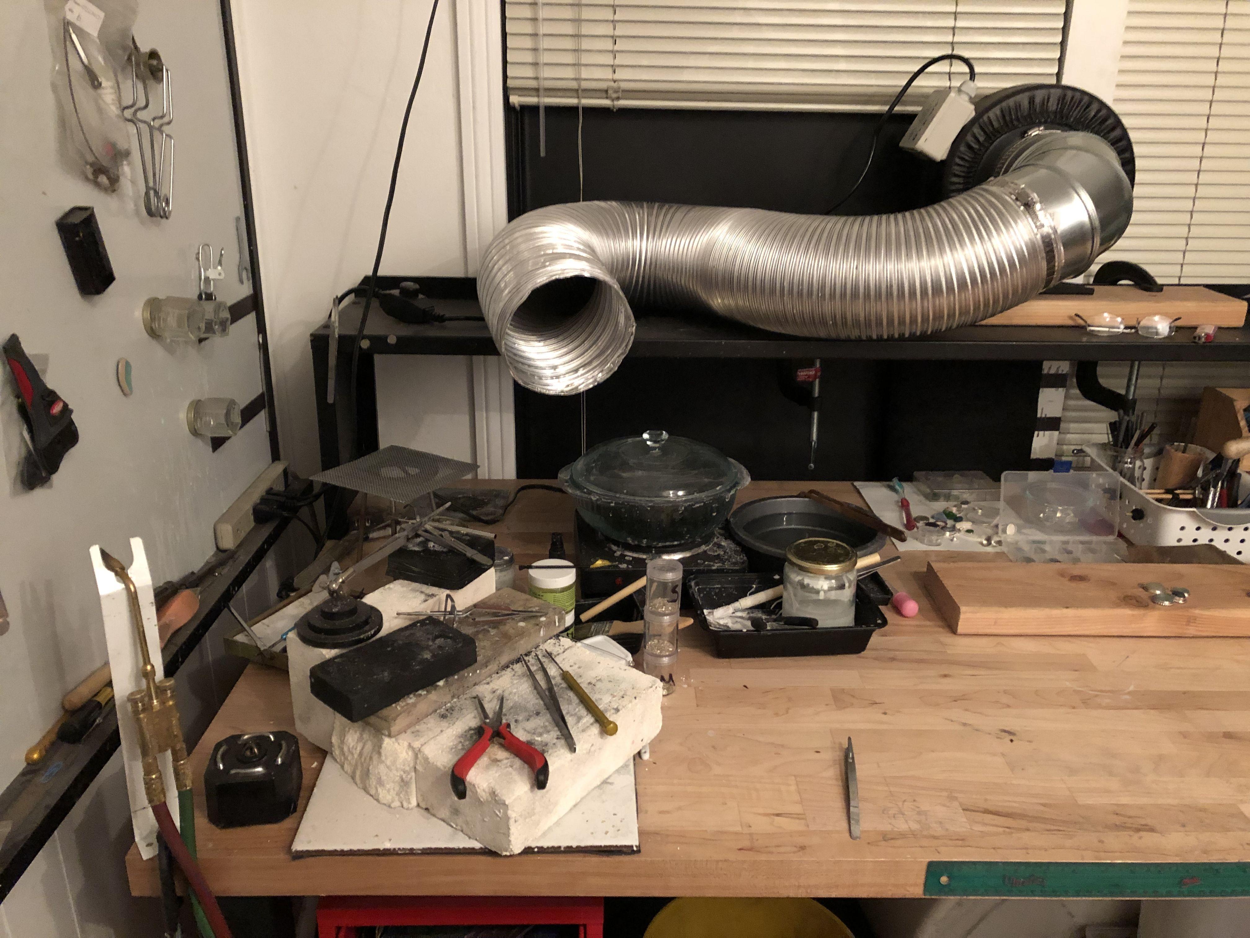 Diy fume extractor diy fumes studio space