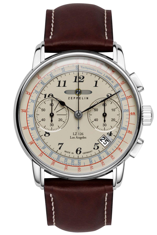 Zeppelin 7614 5 Lz126 Los Angeles Herren Chronograph Uhren Herren Armbanduhr Und Herrenuhren
