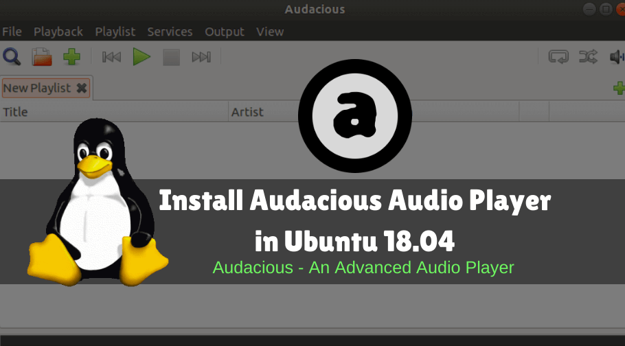 How To Install Audacious Audio Player In Ubuntu 18 04 Audio Player Audio How To Uninstall