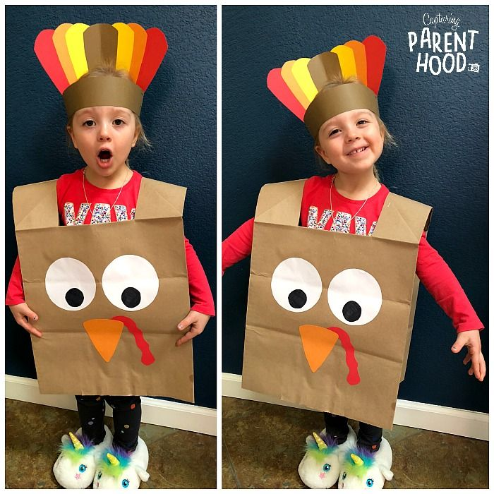 Paper Bag Turkey Craft • Capturing Parenthood