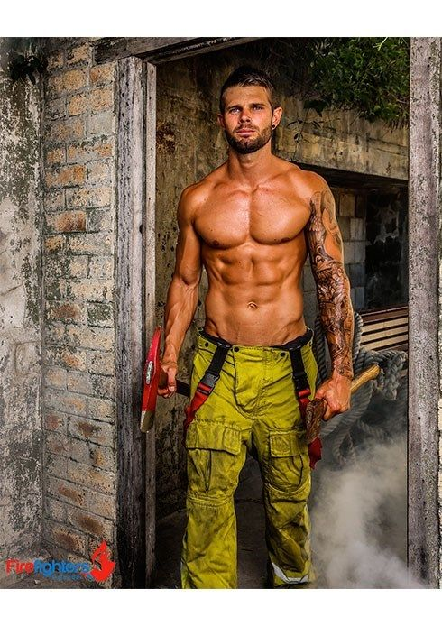 Australian Firefighters Strip For 2015 Calendar Benefiting Children S Hospital The Gaily Grind Hot Firefighters Men In Uniform Hot Firemen