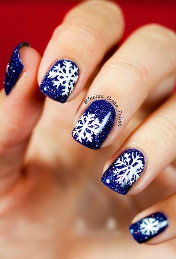 40 Inspirational Winter Nails Designs 2017   Pinterest   Nail design ...