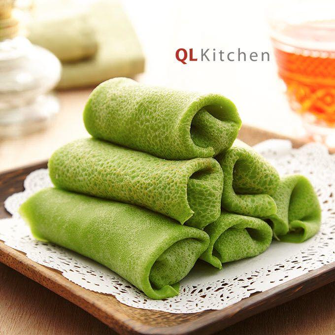 Kueh Ketayap Recipe   Recipes, Snacks, Sweet treats