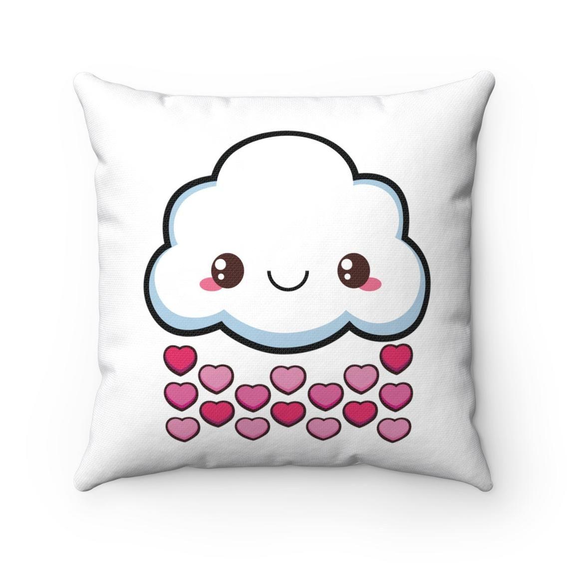 Love Cloud Cute Throw Pillow Cover Sofa Pillow Cute Cushion Cover Funny Cushion Cover Funny Throw Pillow Case Kawaii Cushions Funny Throw Pillows Cute Cushions Funny Cushions