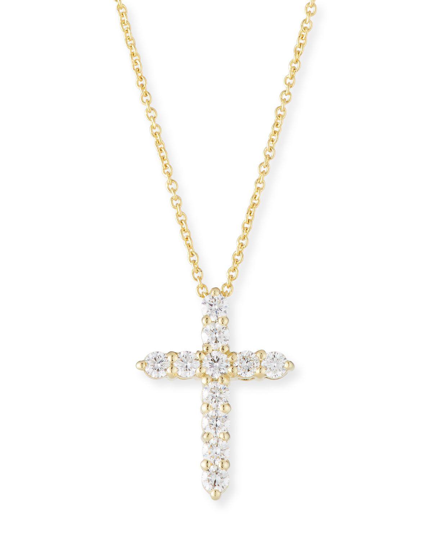 roberto coin tiny cross
