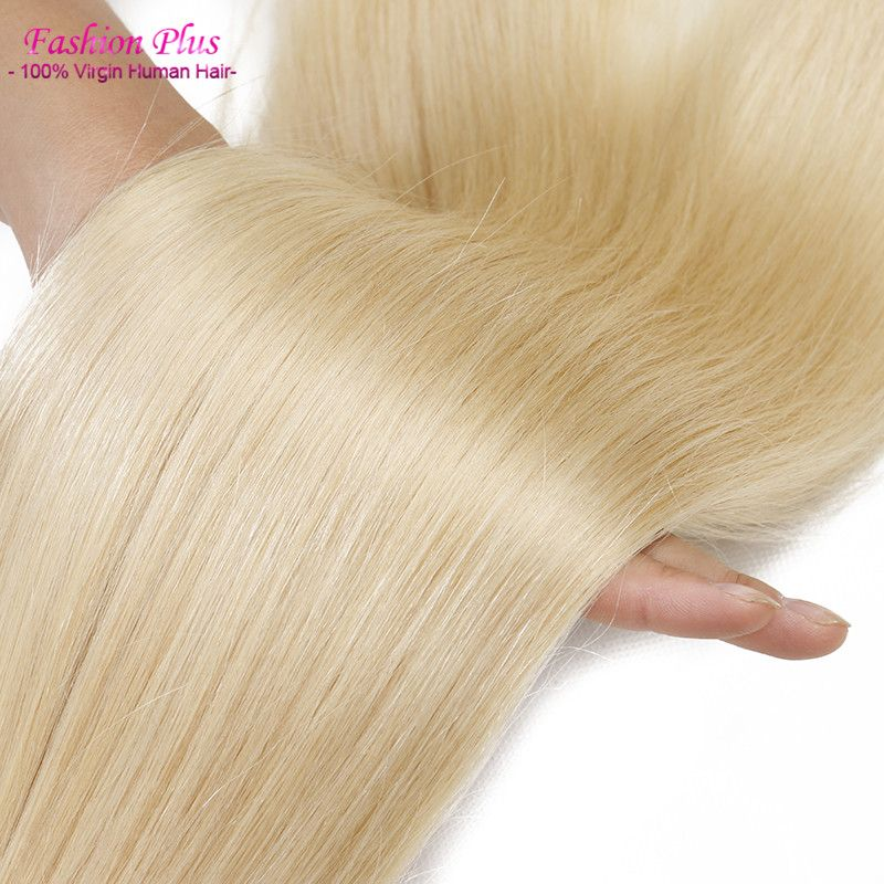 Find More Human Hair Extensions Information About Honey Blonde Russian Weave 613 Virgin