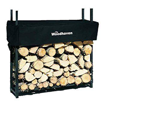 The Woodhaven 3 Foot Firewood Log Rack With Cover The Woodhaven 3 Foot Firewood Log Rack With Cover Measures 36 By 36 By 10 1 8 Cord Woodhaven Firewood Mit Bildern Blau