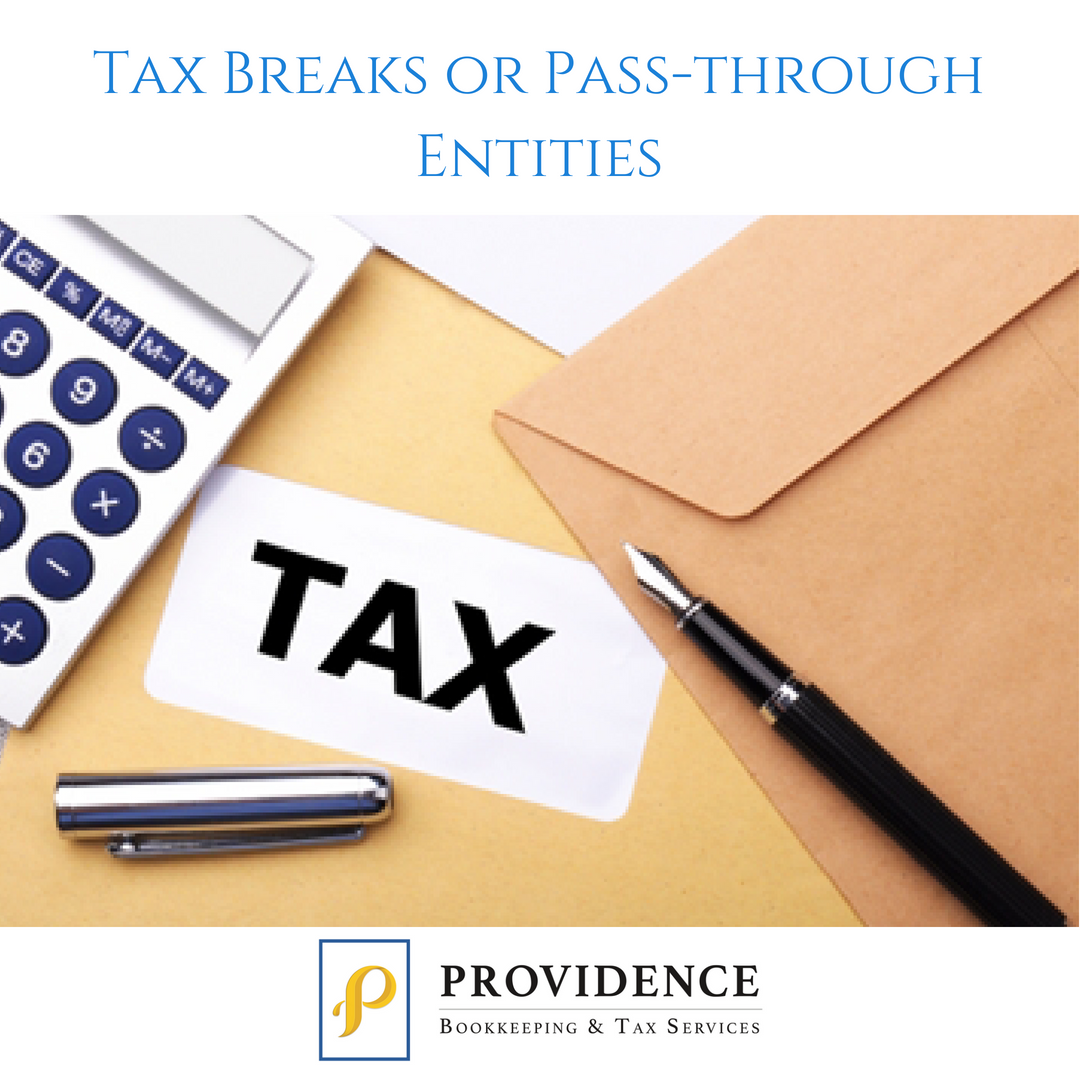 Tax Breaks from Passthrough Entities Affordable life
