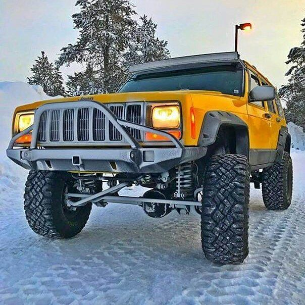 Awesome Shot Of A Snow Covered Jcr Defender Bumper Repost