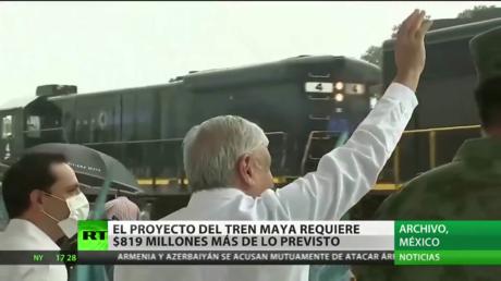 El Proyecto Del Tren Maya Requiere 819 Millones De Dolares Mas De Lo Previsto Tren Mayo Noticias