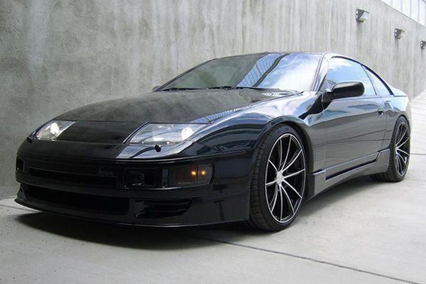 Black Rims For Nissan 300zx 7 Auto Nissandatsun Nissan 300zx