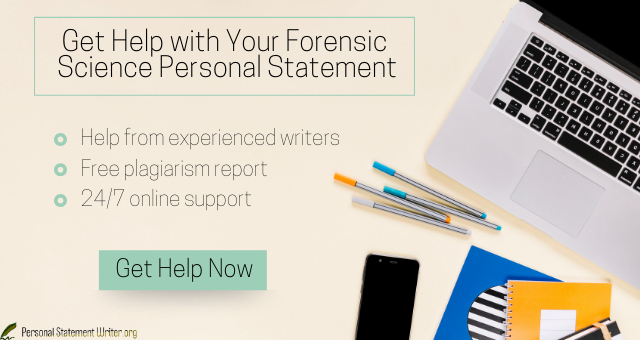 Forensic Personal Statement Help Science Forensics