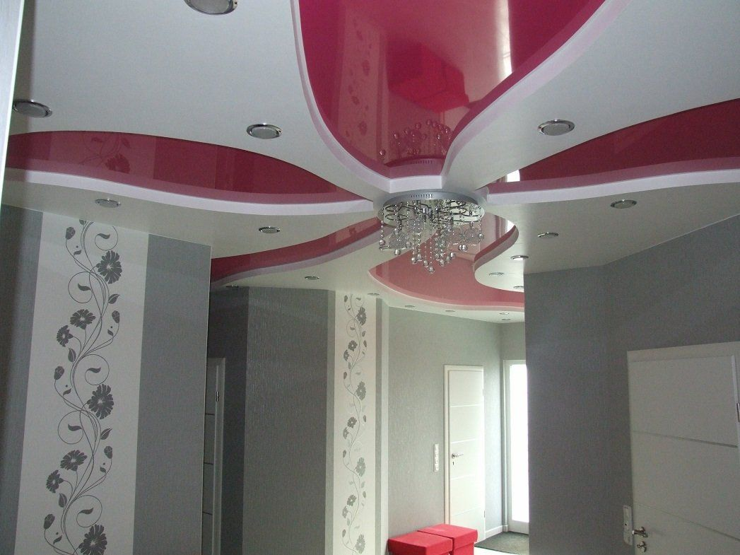 spanndecken im wohnzimmer | decken design | pinterest | im - Wohnzimmer Decken Design