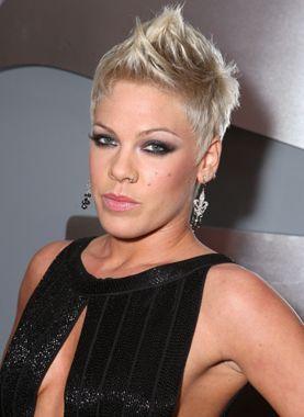 Glamorous Rockstar Hairstyles Sac Kesimleri Sac Kisa Sac Modelleri