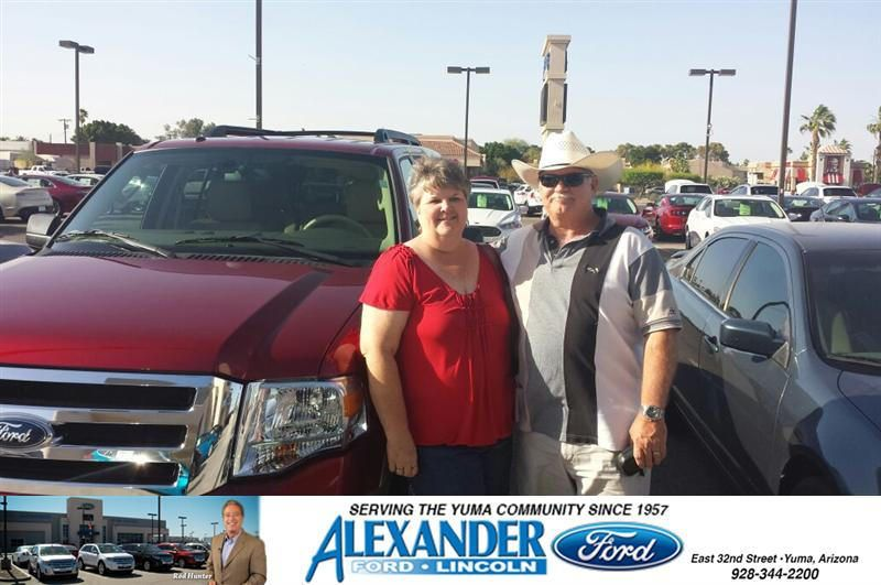 Congratulations To Gordon Johnson On Your Ford Expedition